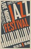 poster for the jazz festival