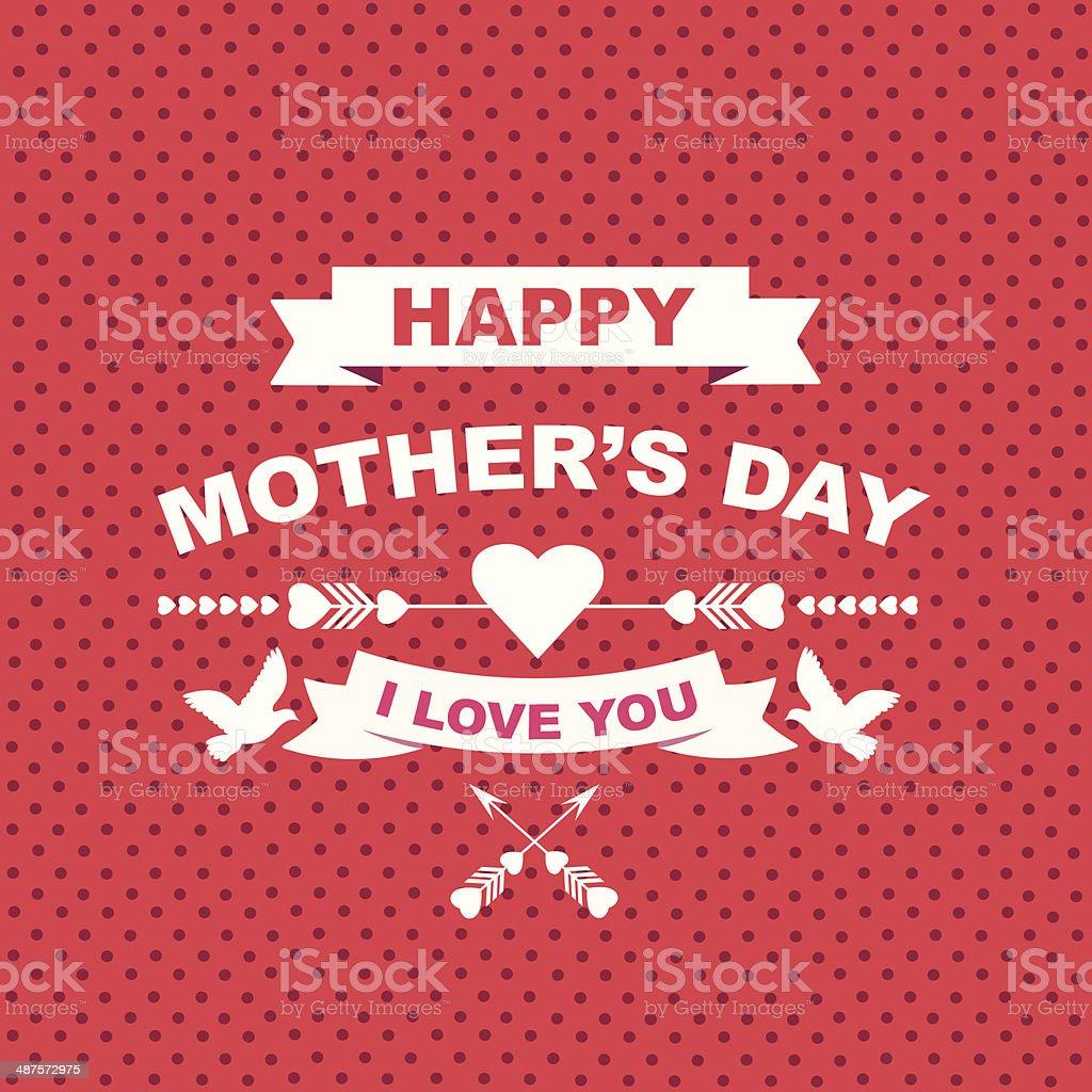 Cartaz Feliz Dia Das Mães Vetor E Ilustração Royalty Free 487572975