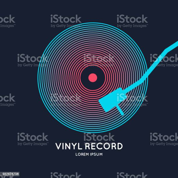 Poster of the vinyl record illustration music on dark background vector id932678708?b=1&k=6&m=932678708&s=612x612&h=hbdwww cxitli7tqgj0mgn8huqpsrnbetzjqtj6kmuq=