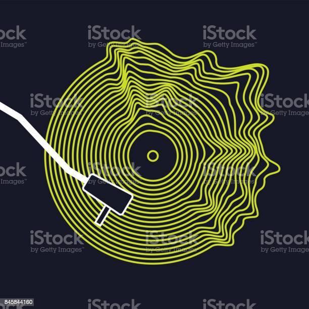 Poster of the vinyl record vector illustration on dark background vector id845844160?b=1&k=6&m=845844160&s=612x612&h=5 emczodxjqbwwc djckaobbva rmixu kwxynklule=