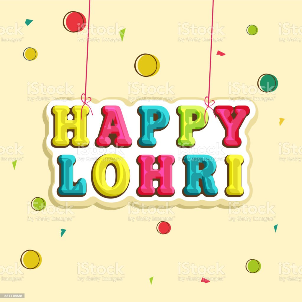 Banner For Happy Lohri Celebration ...