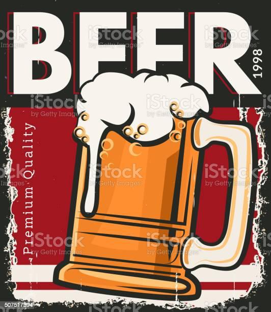 Poster retro beer vector id507517394?b=1&k=6&m=507517394&s=612x612&h=esok1bu6uvkzb4sldhrjzyd4e53ex9nj8yylen9od5k=