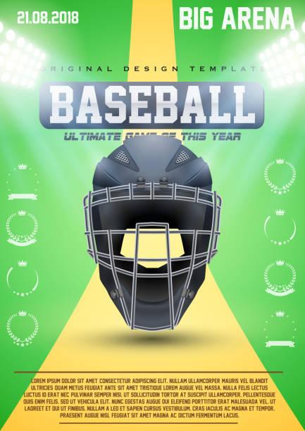 Frases De Catcher De Softball Vectores Libres De Derechos