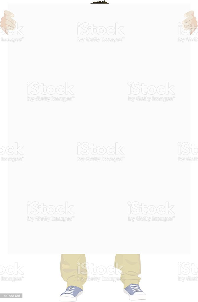 Poster template royalty-free stock vector art