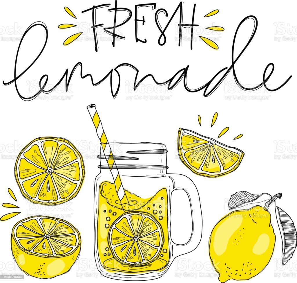 royalty free lemonade clip art vector images illustrations istock rh istockphoto com lemonade clipart images lemonade clipart free