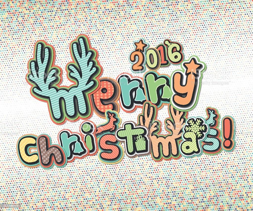 Immagini Con Scritte Di Buon Natale.Poster Con Scritte Auguri Buon Natale E Felice Anno Nuovo