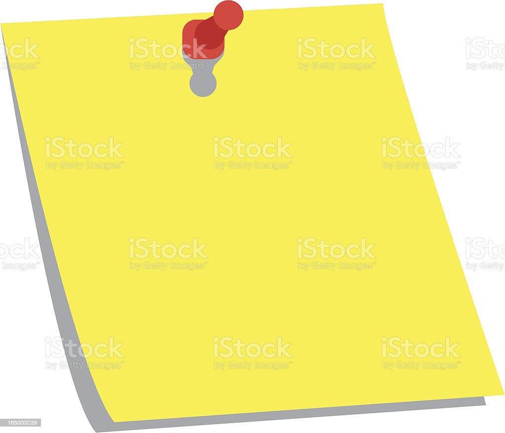 Post-It Note royalty-free postit note stock vector art & more images of adhesive note