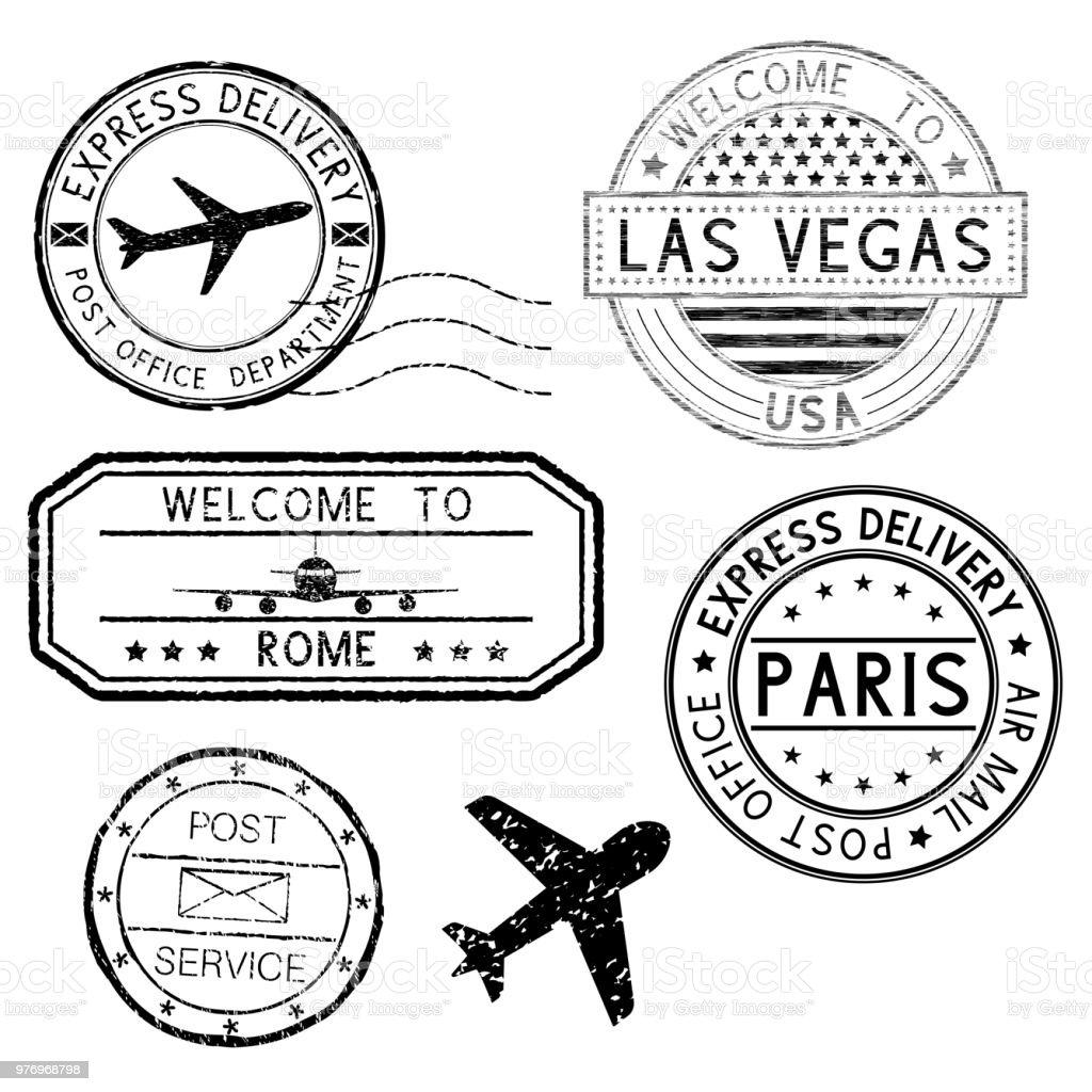 postmarks and travel st s plane symbol stock vector art more Cerium Oxide Home Depot postmarks and travel st s plane symbol royalty free postmarks and travel st s plane symbol