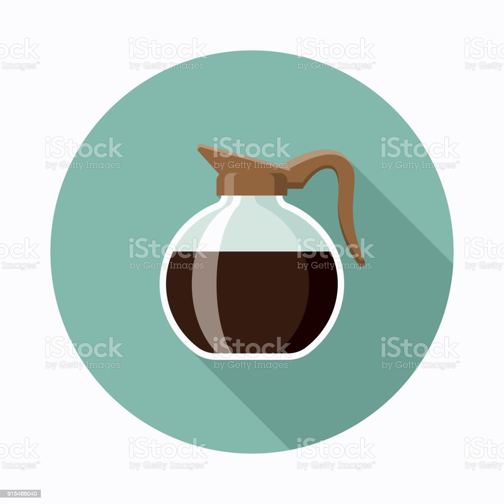 royalty free coffee pot clip art vector images illustrations istock rh istockphoto com vintage coffee pot clipart empty coffee pot clipart