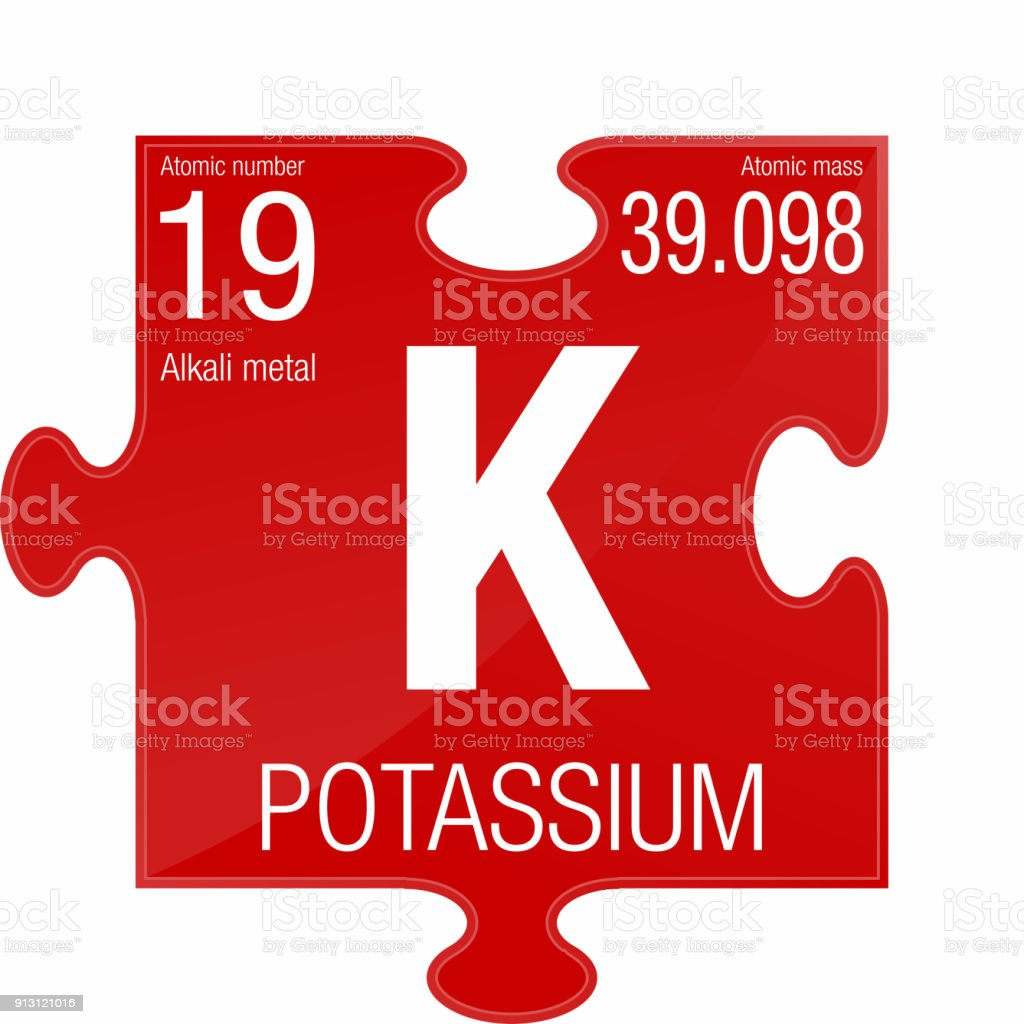 Potassium symbol element number 19 of the periodic table of the potassium symbol element number 19 of the periodic table of the elements chemistry royalty urtaz Choice Image