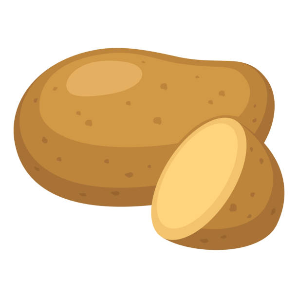potatis - kartoffeln stock-grafiken, -clipart, -cartoons und -symbole