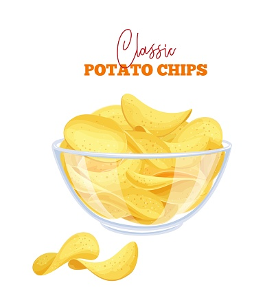 Potato chips set