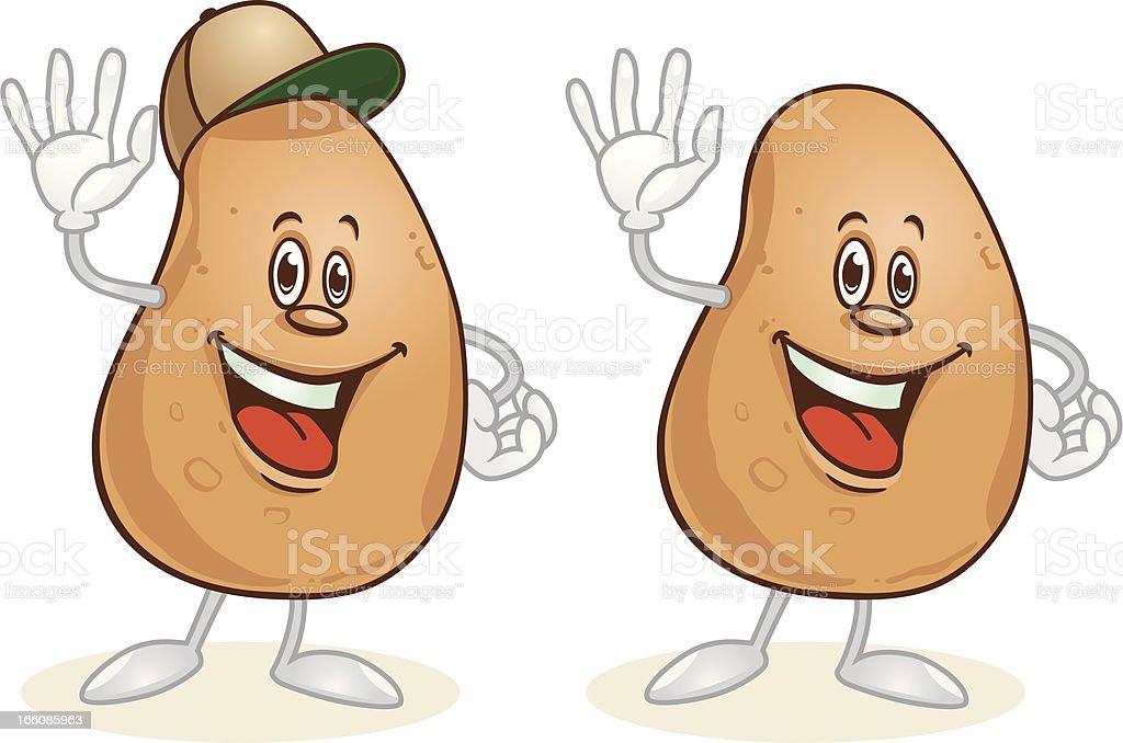 Potato royalty-free stock vector art
