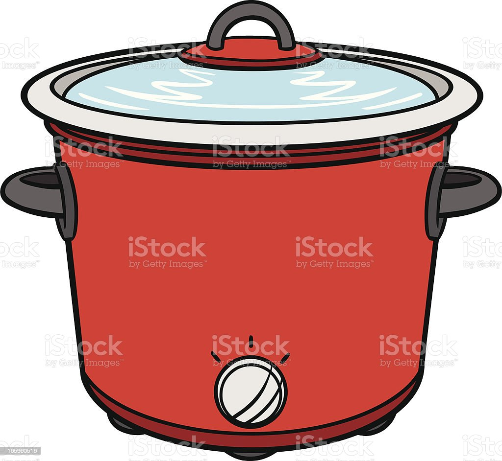 royalty free crock pot clip art vector images illustrations istock rh istockphoto com clipart pot de confiture clipart pot de départ