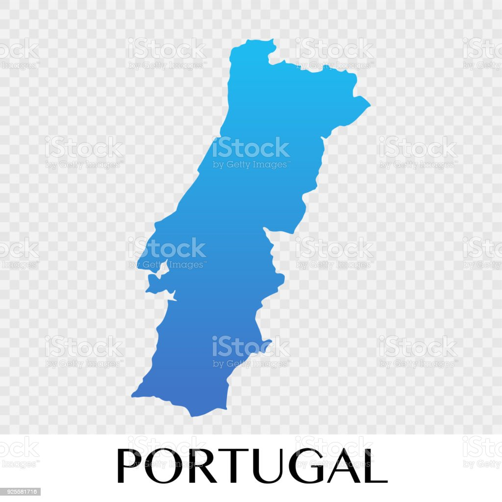 potugal map in europe continent illustration design royalty free potugal map in europe continent illustration