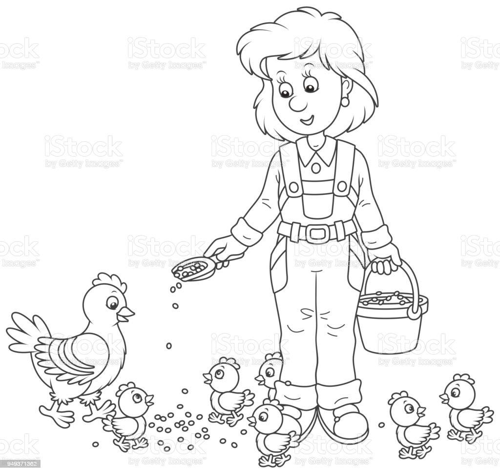 Increíble Chica Enojada Pájaros Para Colorear Viñeta - Ideas Para ...