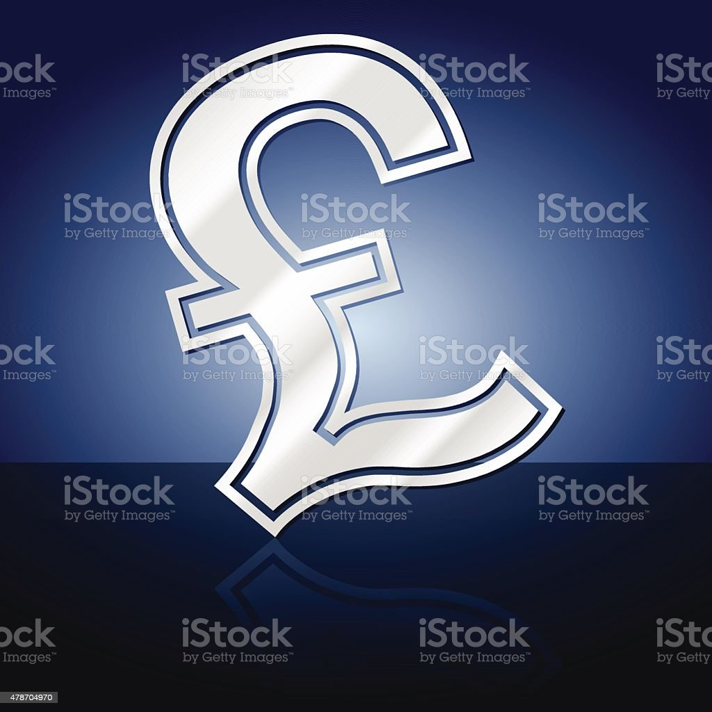 Pound Currency Symbol Stock Vector Art More Images Of 2015