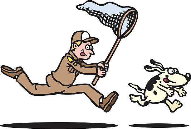 Royalty Free Dog Catcher Clip Art, - 36.3KB