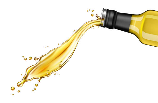 181 Olive Oil Pouring Illustrations & Clip Art - iStock