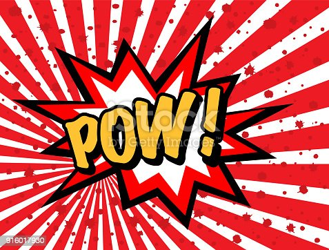 istock Pow effect 916017930