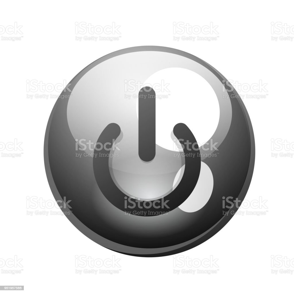 Power Button Icon Start Symbol Stock Vector Art More Images Of