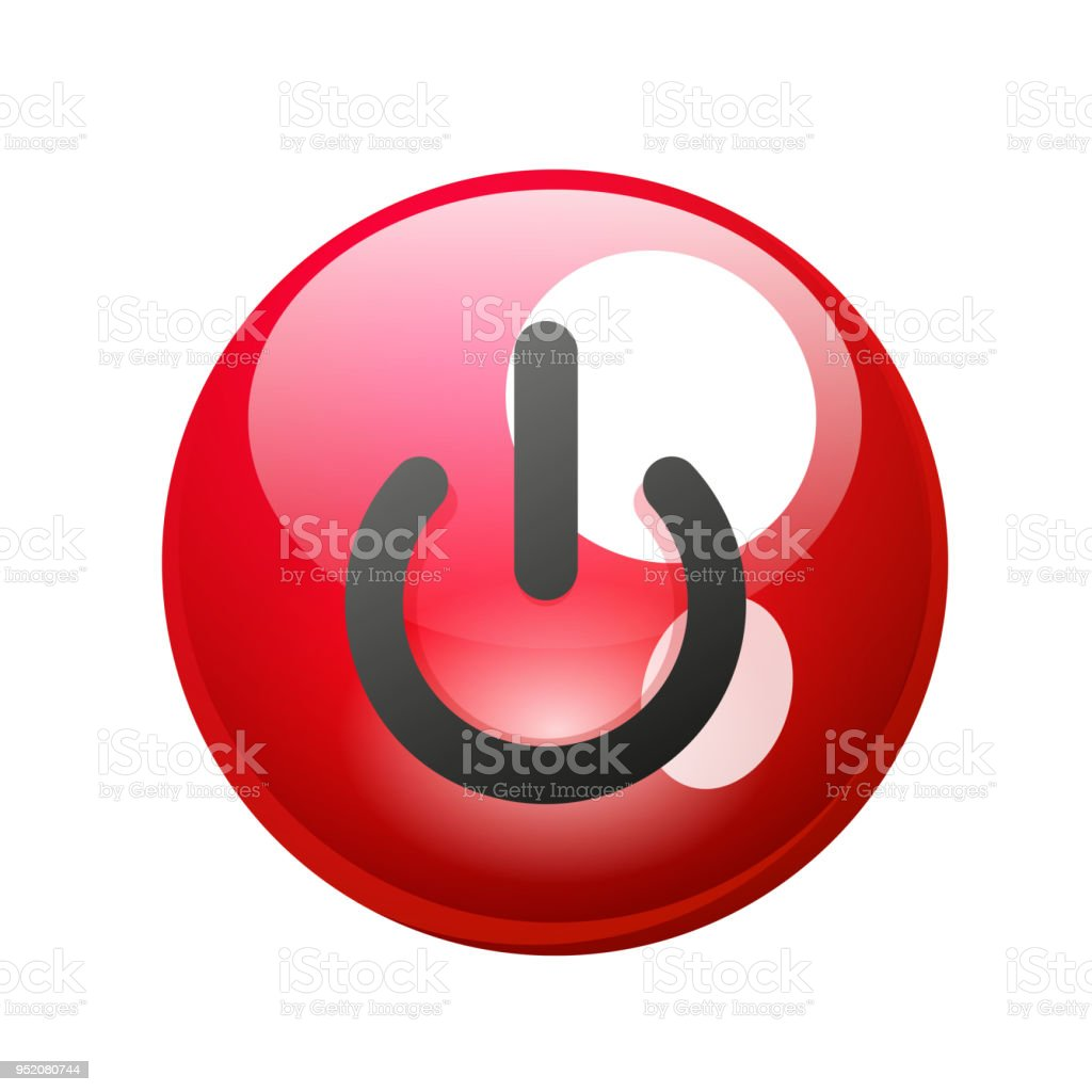Power Button Icon Start Symbol Stock Illustration - Download Image Now