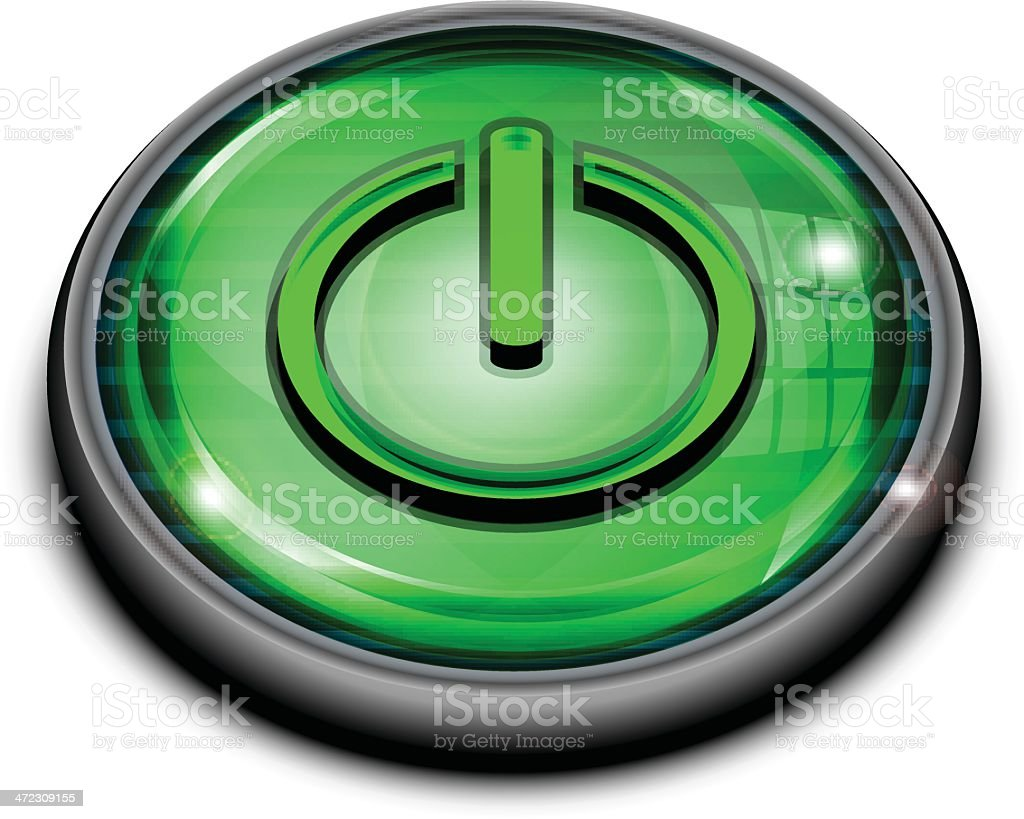 Power Button royalty-free power button stock vector art & more images of beginnings
