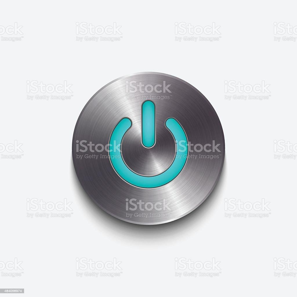 Power button,vector vector art illustration