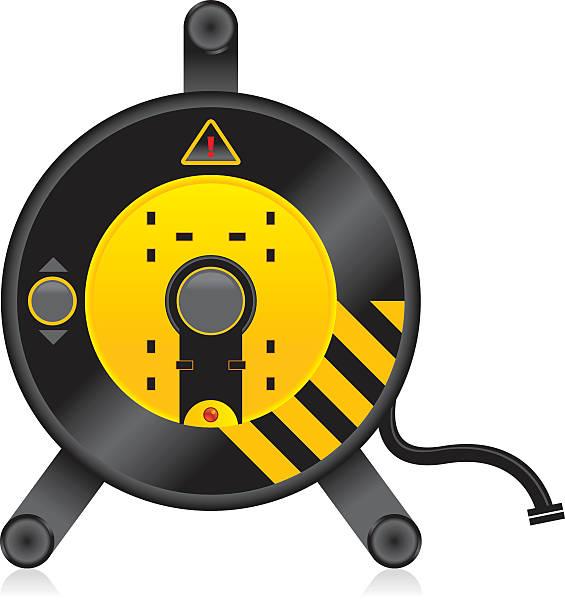 illustrations, cliparts, dessins animés et icônes de câble électrique - rallonge électrique