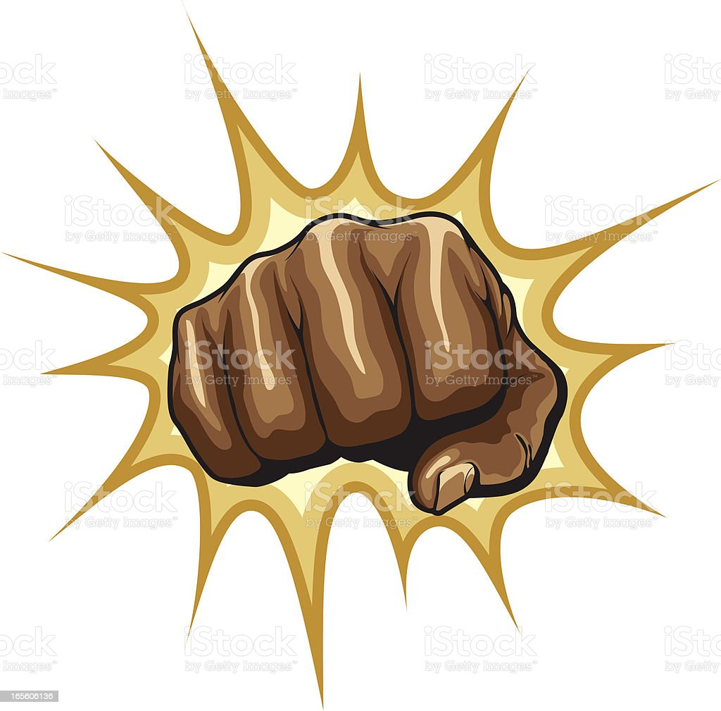 power fists royalty-free stock vector art