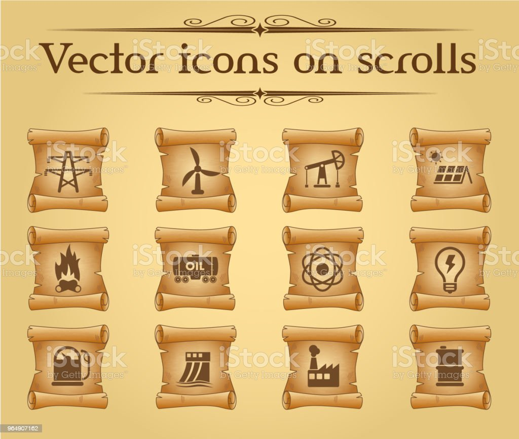 power generation icon set royalty-free power generation icon set stock vector art & more images of antique
