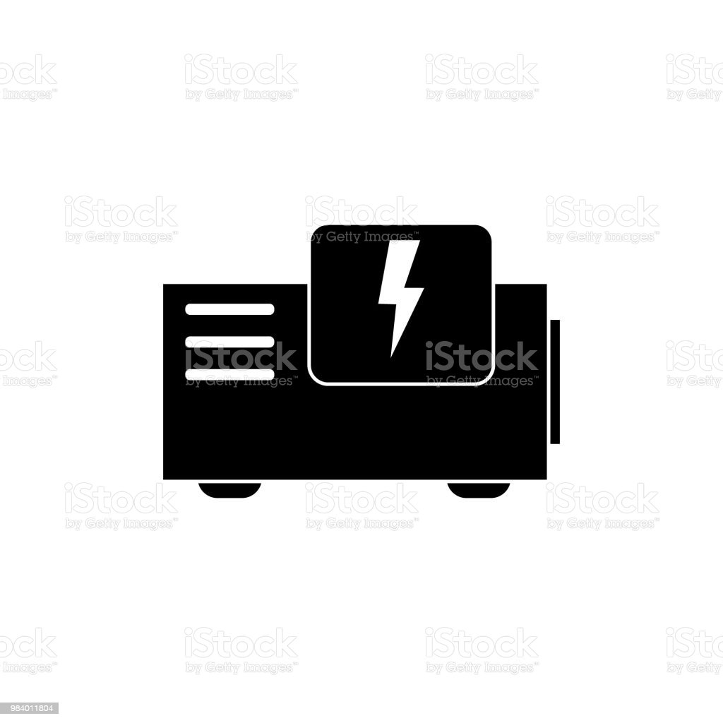 Exceptionnel Best Power Generator Illustrations, Royalty Free Vector ...