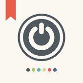 istock Power icon 531012424
