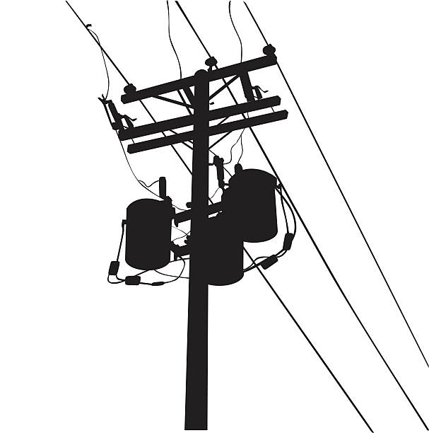 Best Power Line Illustrations, Royalty-Free Vector ...