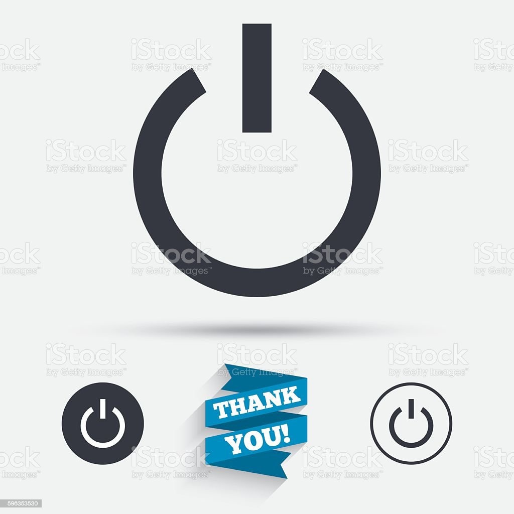 Power sign icon. Switch on symbol. royalty-free power sign icon switch on symbol stock vector art & more images of authority