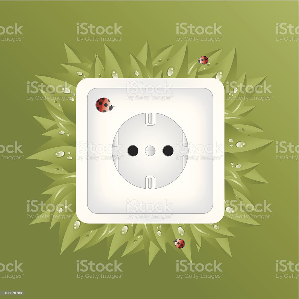 Power Socket royalty-free stock vector art