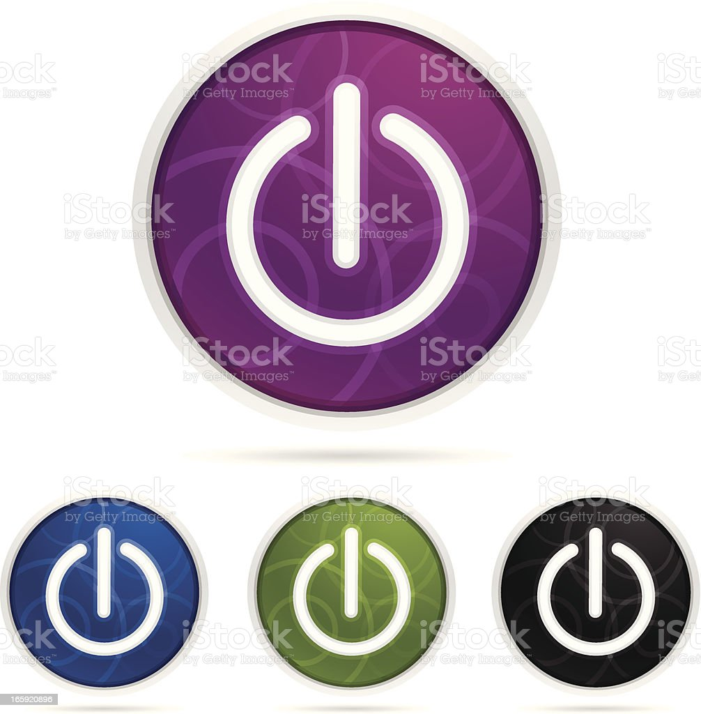 Power Switch Icon royalty-free stock vector art