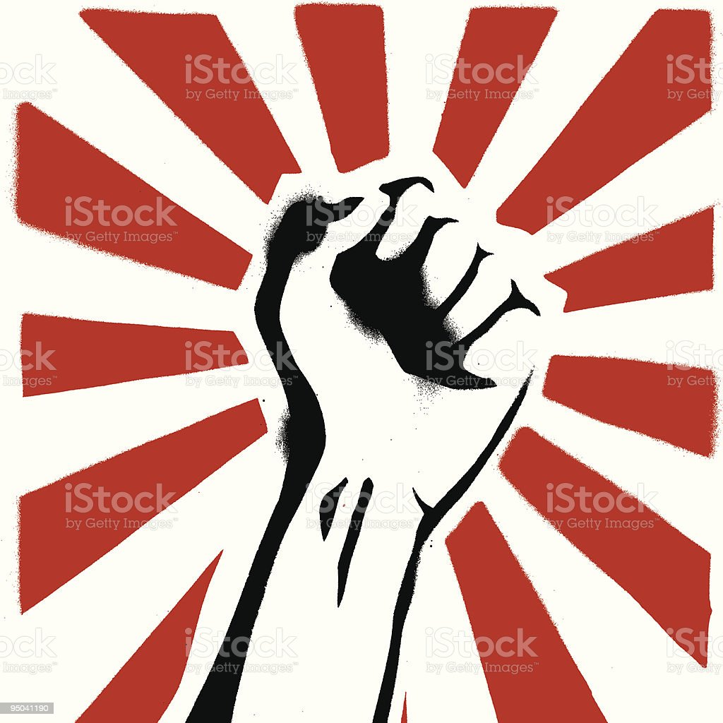 Power to the sheeple royalty-free power to the sheeple stock vector art & more images of anger