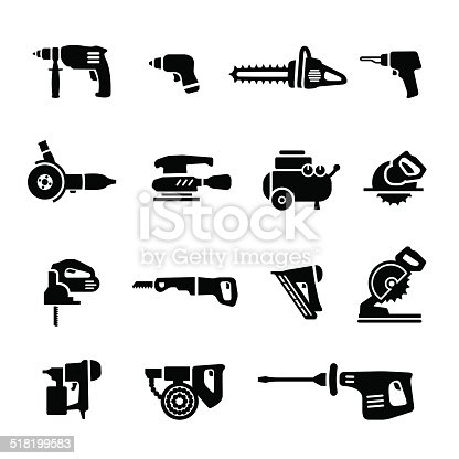 Power Tools Vector Set Icons Gm518199583 49019280