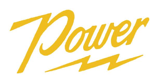 Power Power power stock illustrations