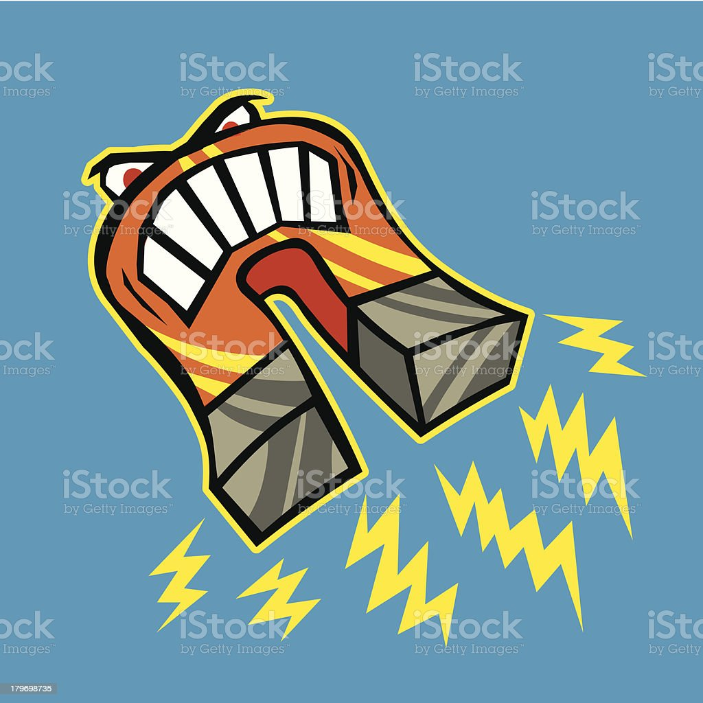 Powerful Magnet royalty-free powerful magnet stock vector art & more images of anger