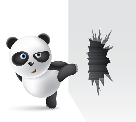 Powerful panda
