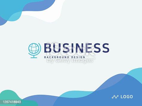 istock Powerpoint background design 1257418943