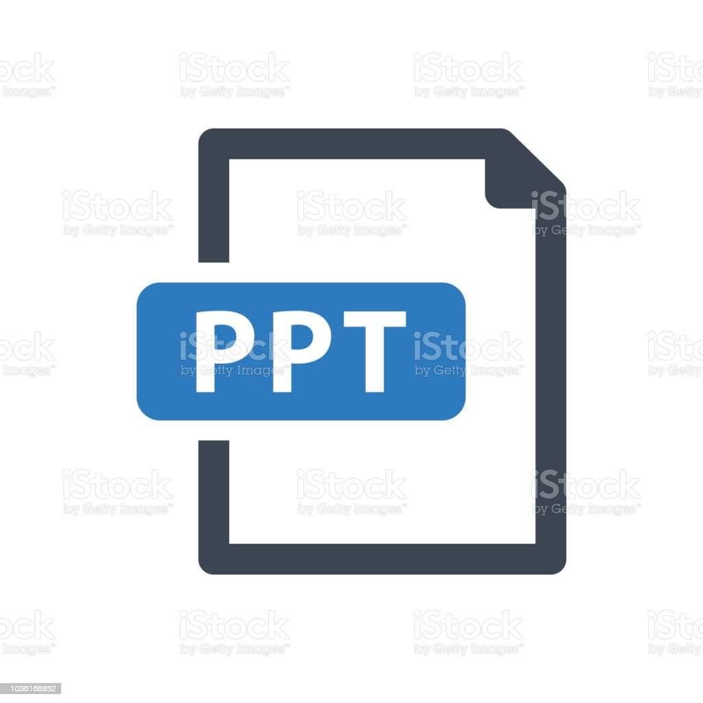 Ppt File Icon Stock Vector Art & More Images of Bangladesh - iStock