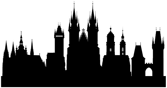 Prague (All Buildings are Moveable and Complete)