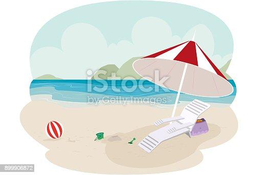 istock Praia livre pra diversão 899906872