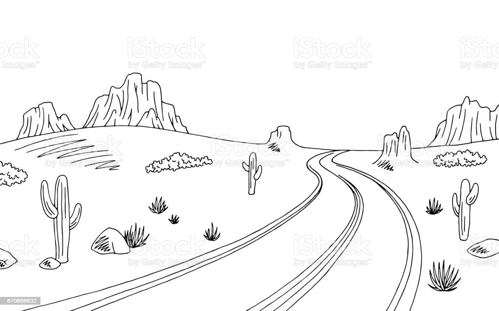 road clipart black and white - Jaxstorm.realverse.us
