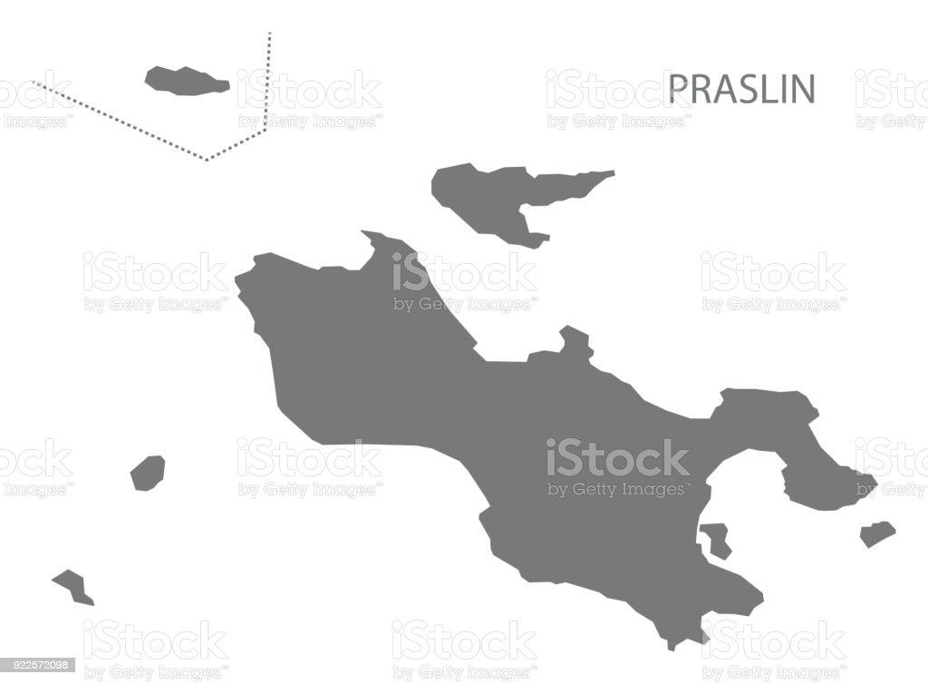 Praslin seychelles map grey illustration silhouette stock vector art praslin seychelles map grey illustration silhouette royalty free praslin seychelles map grey illustration silhouette stock gumiabroncs Gallery