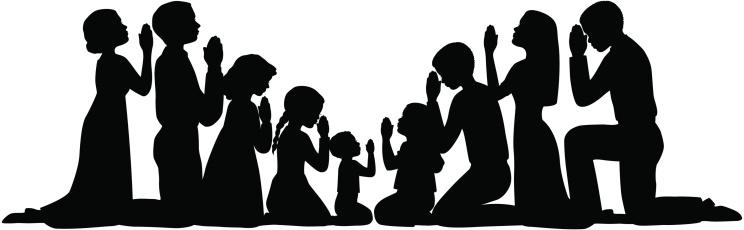 Prayer Group Silhouettes