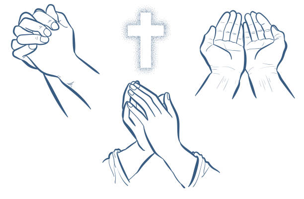 Best Prayer Illustrations, Royalty-Free Vector Graphics